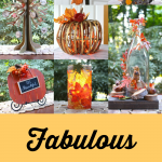 Fabulous Fall Decor Ideas including a Leaf Luminary, Pumpkin Sign, Thankful Tree and more!