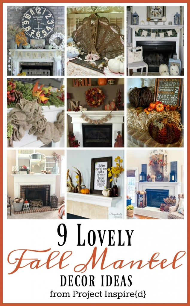 Great fall mantle decor ideas for your home