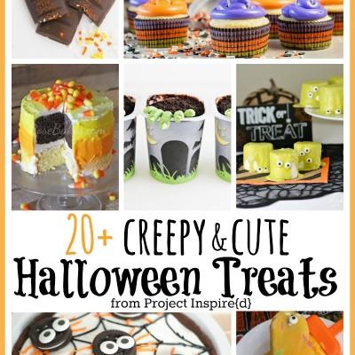Creepy and Cute Halloween Treats