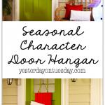 Seasonal Character Door Hangar