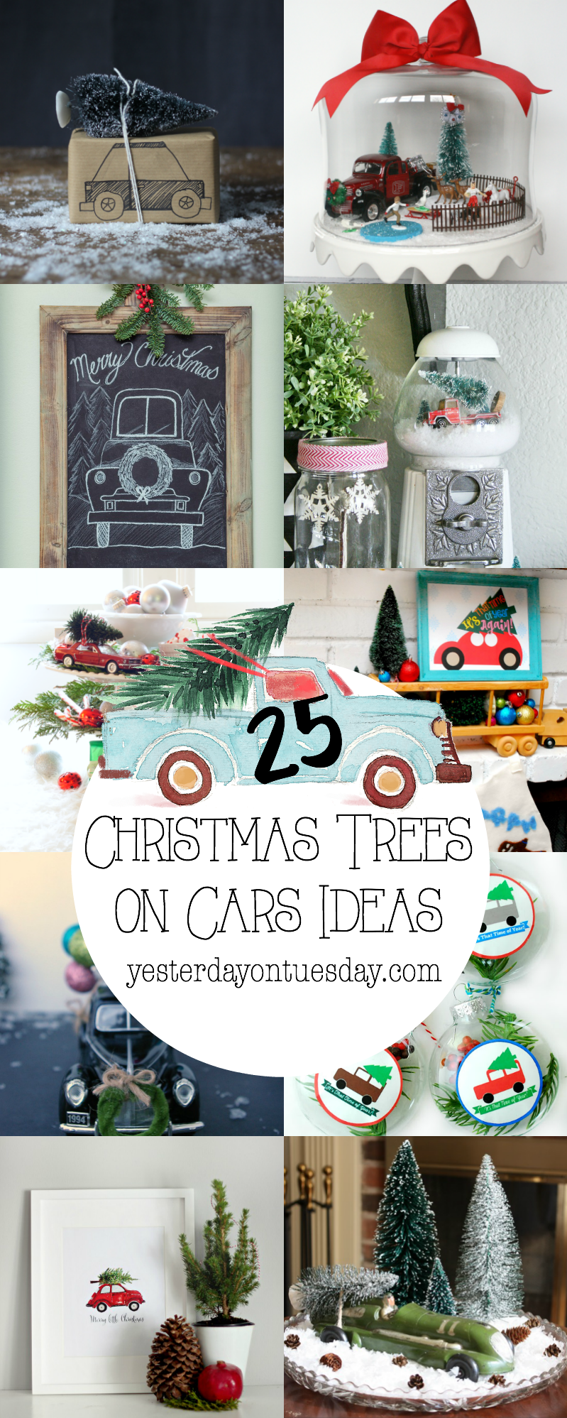 25 Christmas Trees On Cars Ideas Png