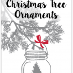 25 Mason Jar Christmas Ornaments: great mason jar craft, decor and gift ideas for Christmas and the holiday season! Spruce up the Christmas tree with one of these projects.