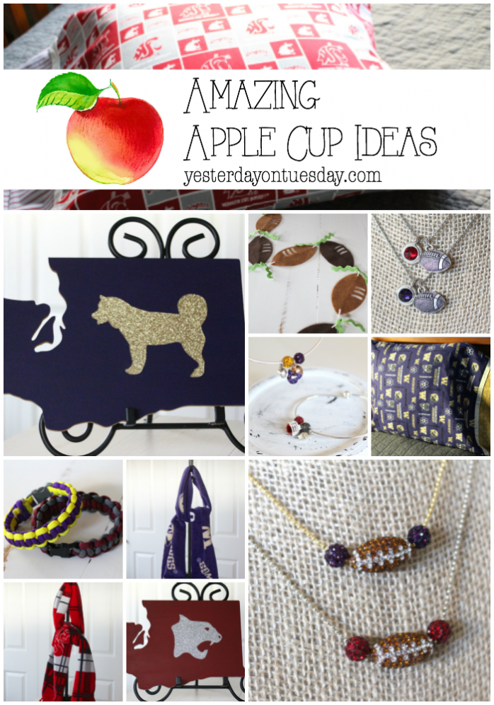 Amazing Apple Cup Ideas: Fun ways to show your team spirit for the annual UW Huskies versus WSU Cougar college match up!