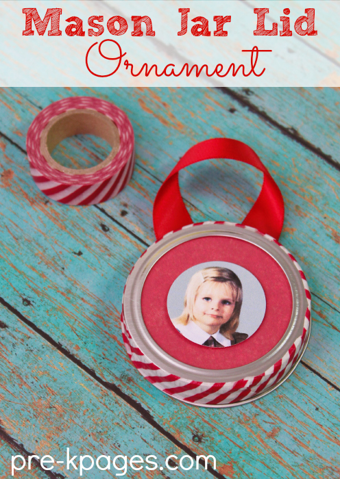 Easy Preschool Ornament