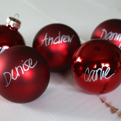 Simple Christmas Placeholders
