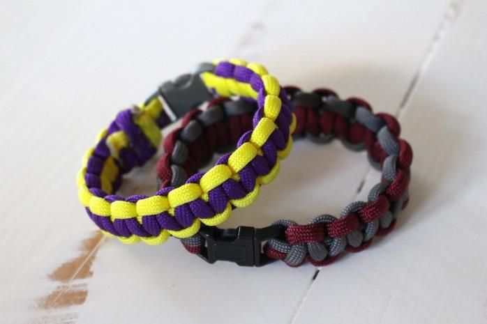 DIY Parachute Cord Bracelets