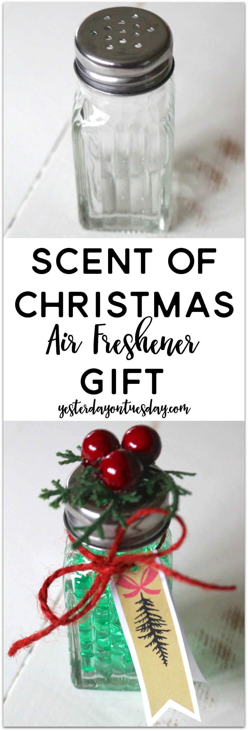 Scent Of Christmas Air Freshener Jpg