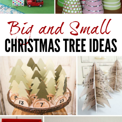 Big and Small Christmas Tree Ideas