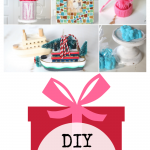 DIY Holiday Gifts They'll Love including bath bombs, a ferry boat ornament, a mosaic frame, no sew hat and more!