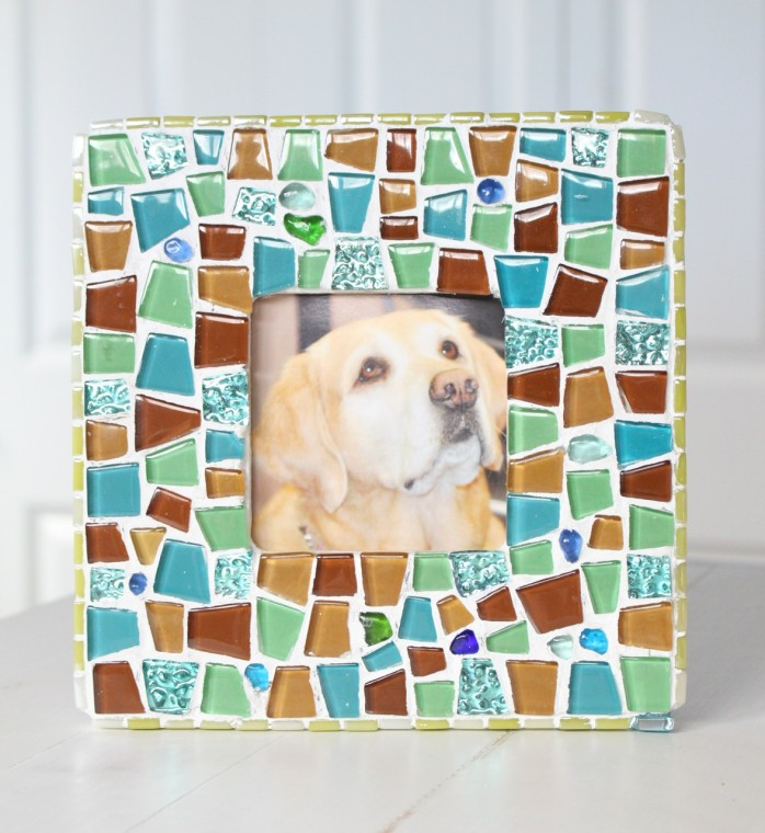 Mosaic Frame, great for Christmas gift giving
