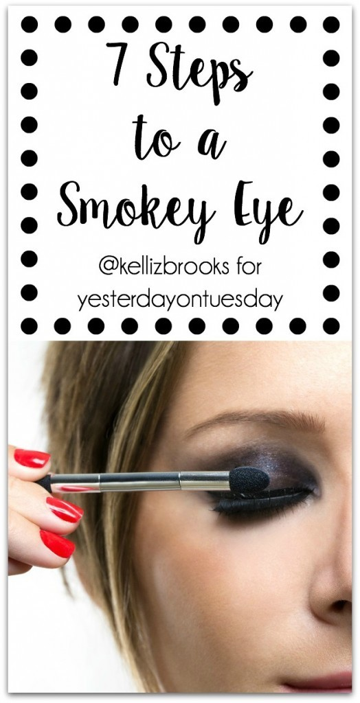 7 Steps to a Smokey Eye: How to create the perfect smokey eye. Easy Step by step directions for a professional makeup artist!