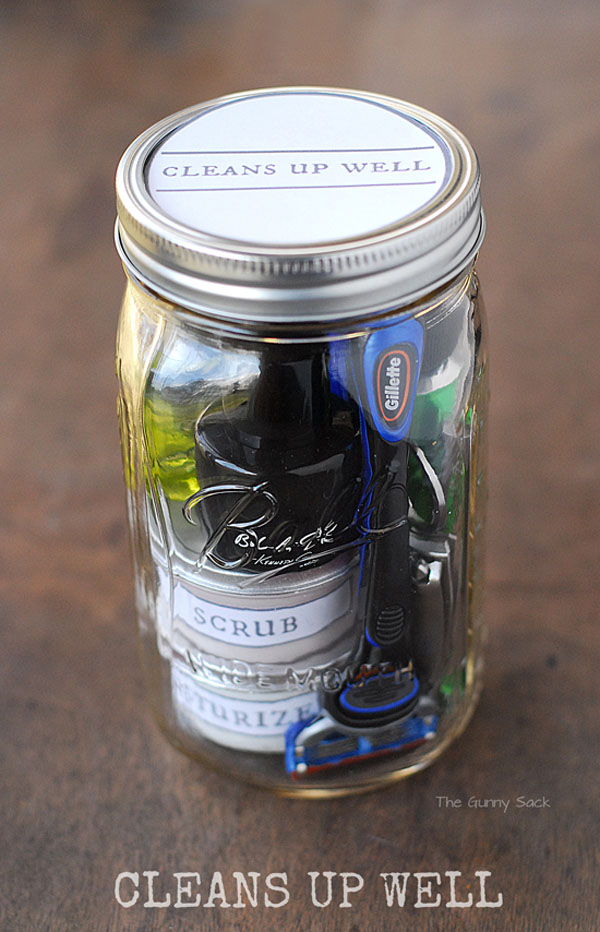 Cleans Up Well Gift Jar