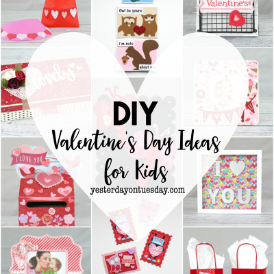 DIY Valentine's Day Ideas for Kids