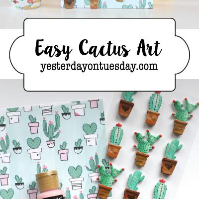 Easy Cactus Art