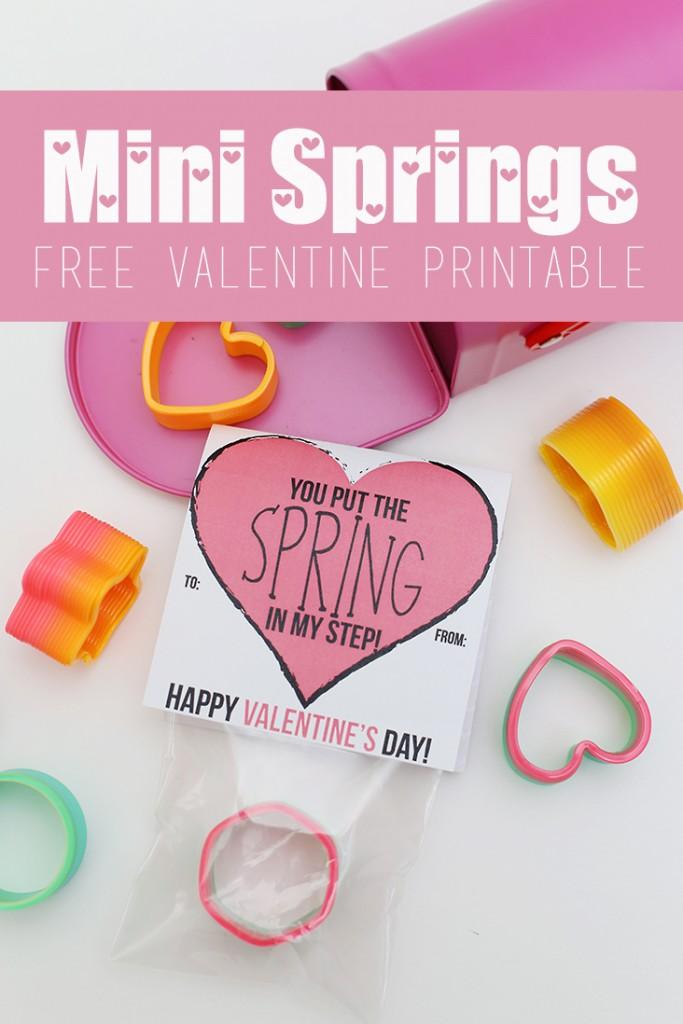 Mini Springs Valentine