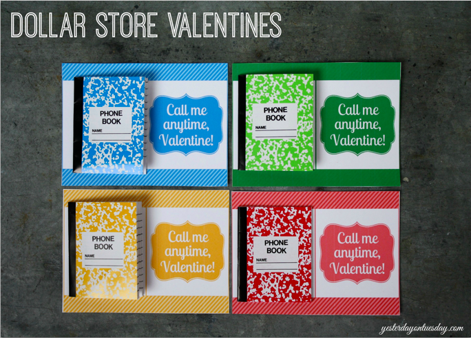 Dollar Store Valentines: Budget friendly valentines for classroom parties and more.