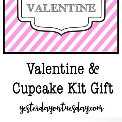 Cupcake Valentine and Gift