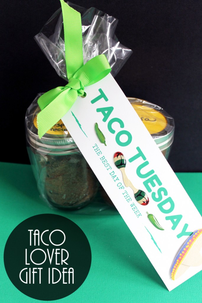 Taco Lover Gift in a Jar