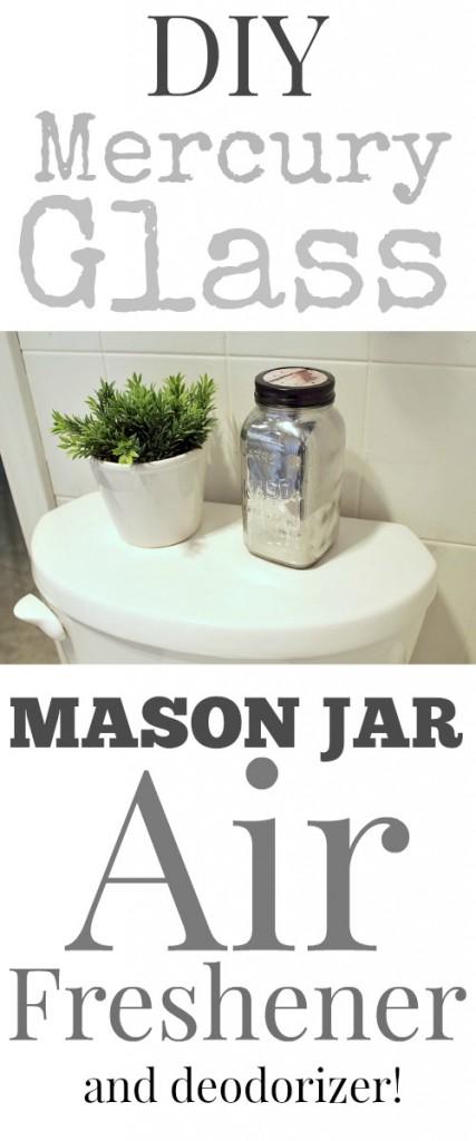 DIY Mercury Mason Jar Air Freshener