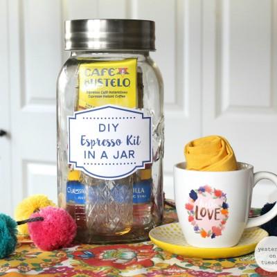 DIY Espresso Kit in a Jar