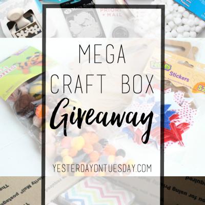 Mega Craft Box Giveaway