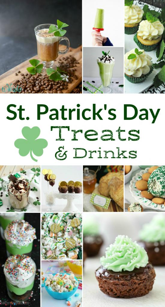 St. Patrick's Day Treats & Drinks