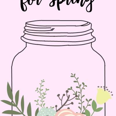 20 Fresh Mason Jar Ideas for Spring