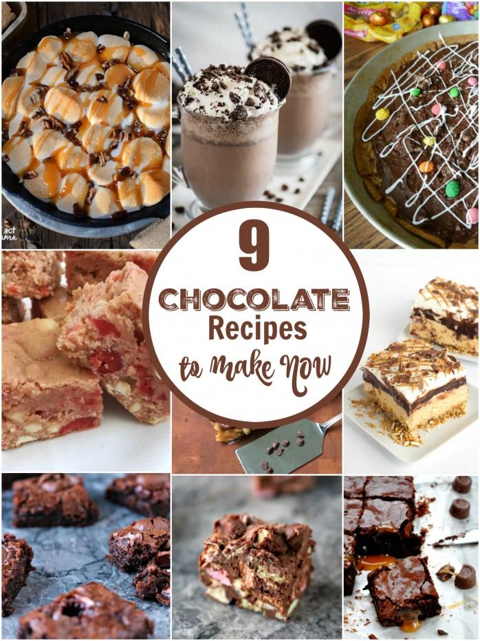 9 Chocolate Recipes to Make Now: Delicious dessert ideas!