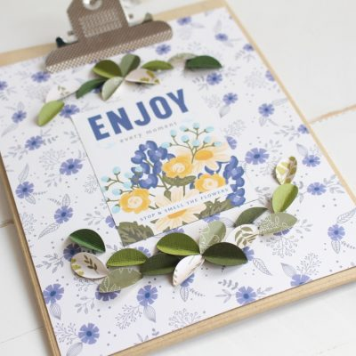 Modern Farmhouse Clipboard Decor