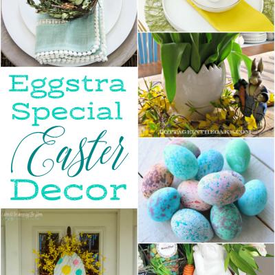Egg Themed Easter Decor
