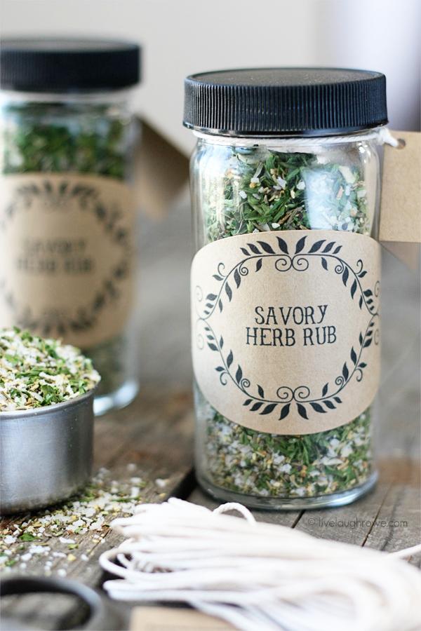 Savory Herb Rub