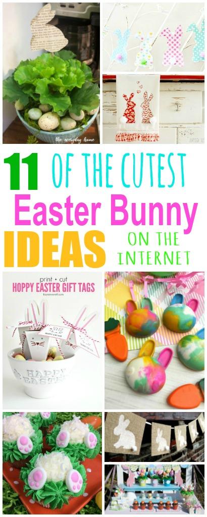 11 Adorable Easter Bunny Ideas