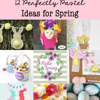 A Dozen Perfectly Pastel Ideas for Spring