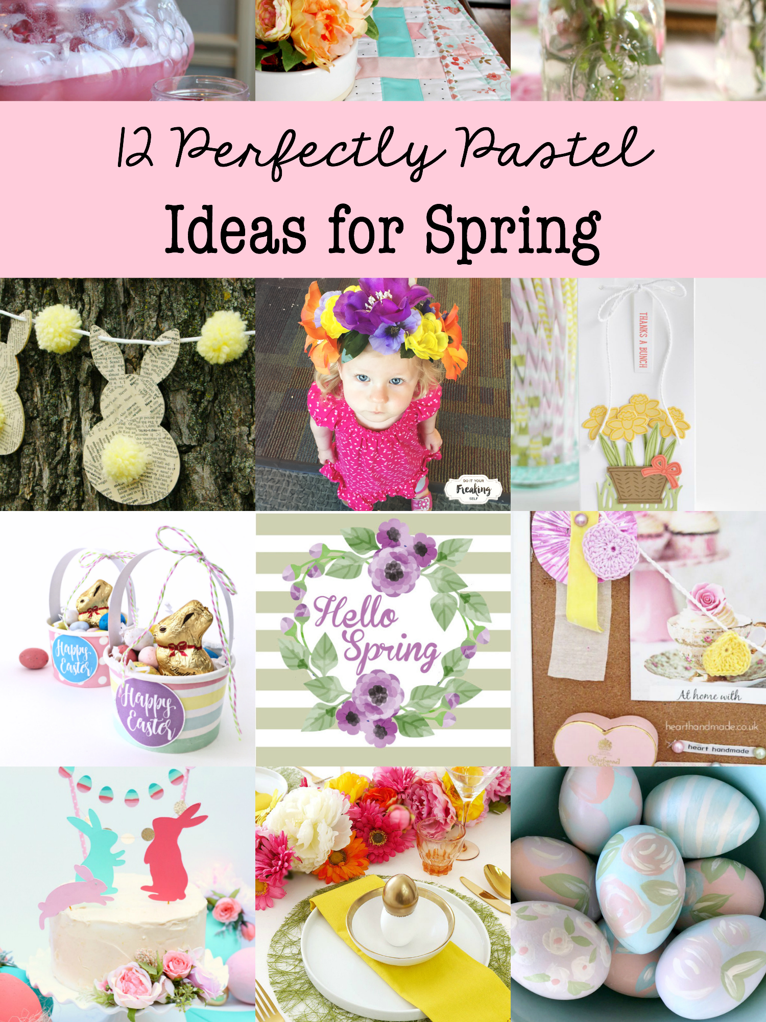 Perfect Pastel Ideas for Spring