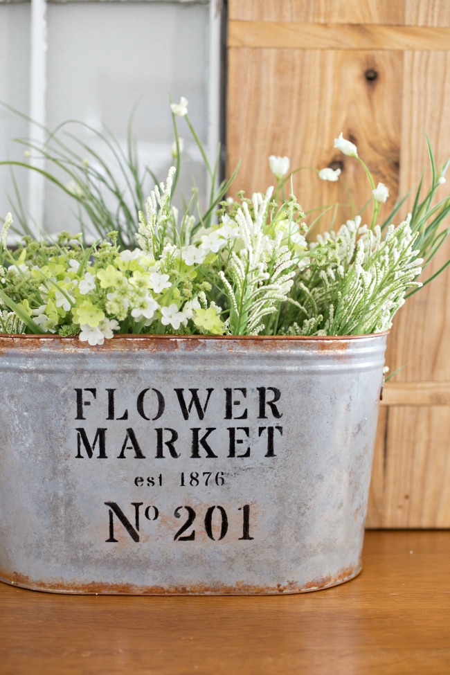 Flower Market Bucket