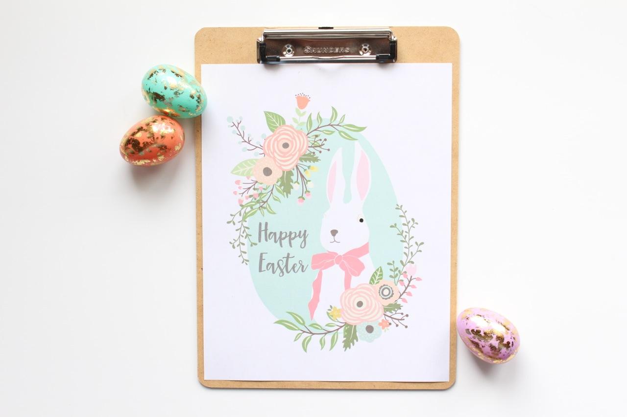 Easy Easter Printable Art