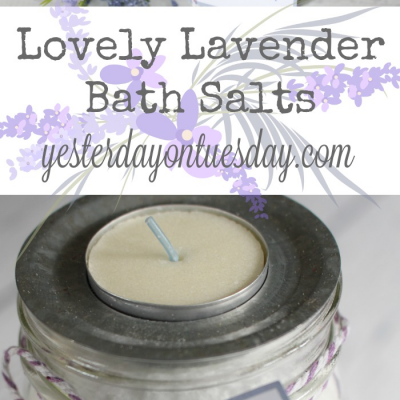 Lovely Lavender Bath Salts