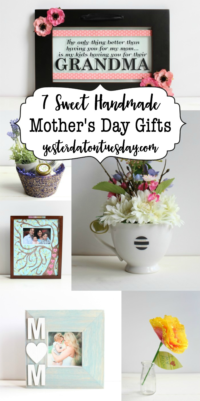 mothers day handmade gifts 7 sweet handmade s day gifts yesterday on tuesday 7820