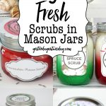 9 Mason Jar Scrubs