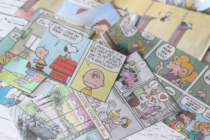 Comics Mason Jar Vase Teacher Gift with Printable Tags