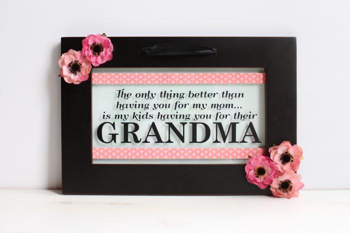 Grandma Frame Gift