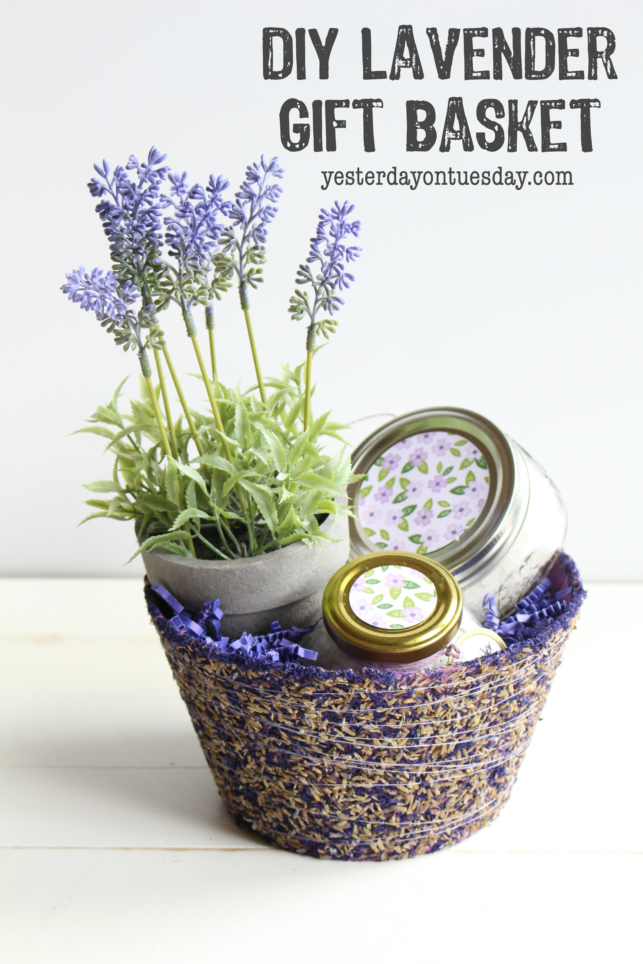 DIY Lavender Bath Salts and Lavender Scrub
