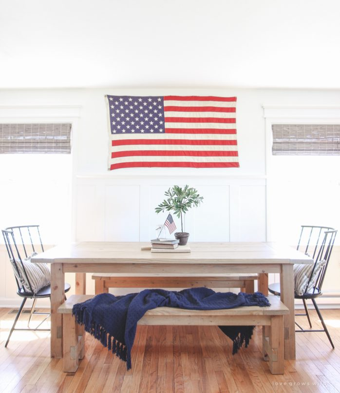 Patriotic Dining Room