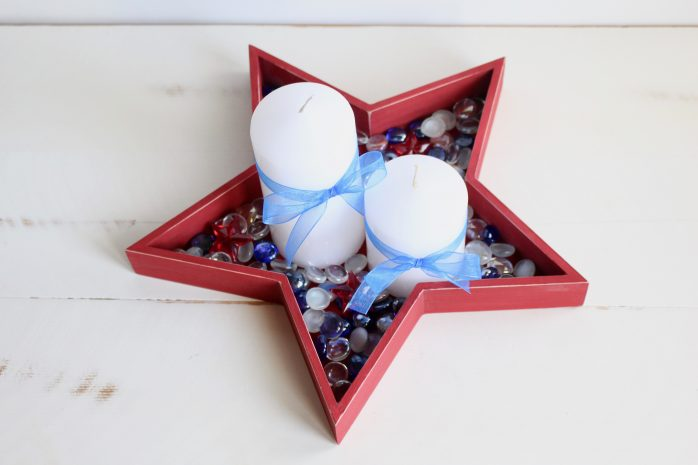 DIY Star Centerpiece