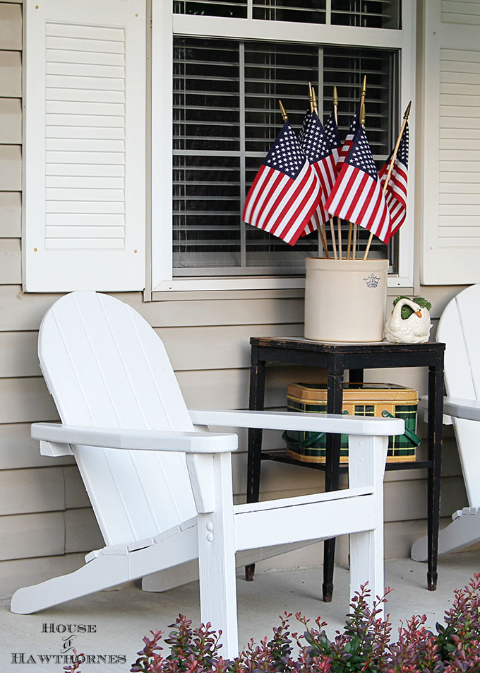 DIY Summer Porch Decorating
