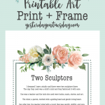 Inspirational Printable Art