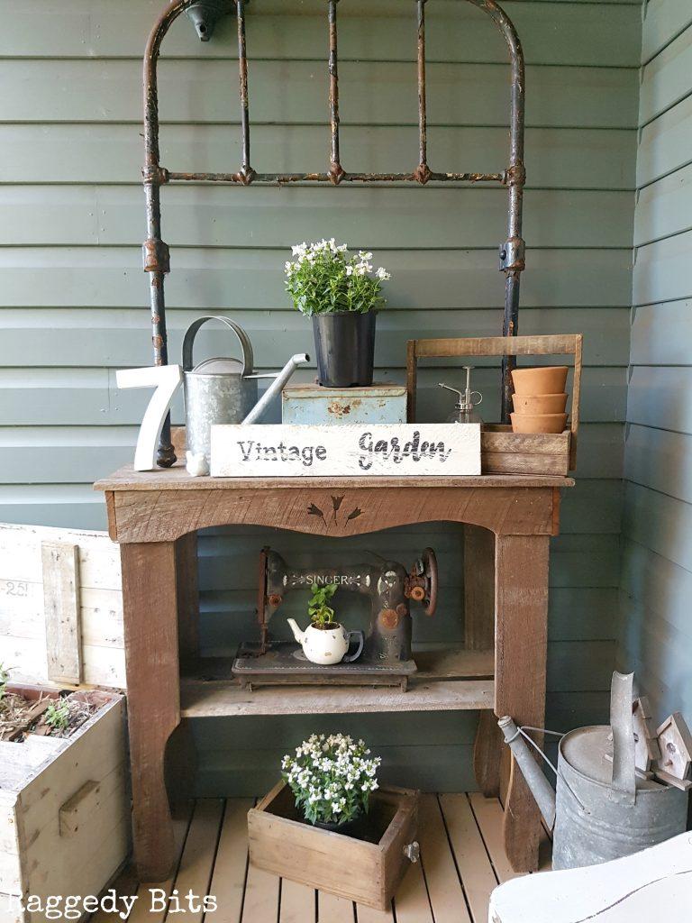 Vintage Farmhouse Garden Tour