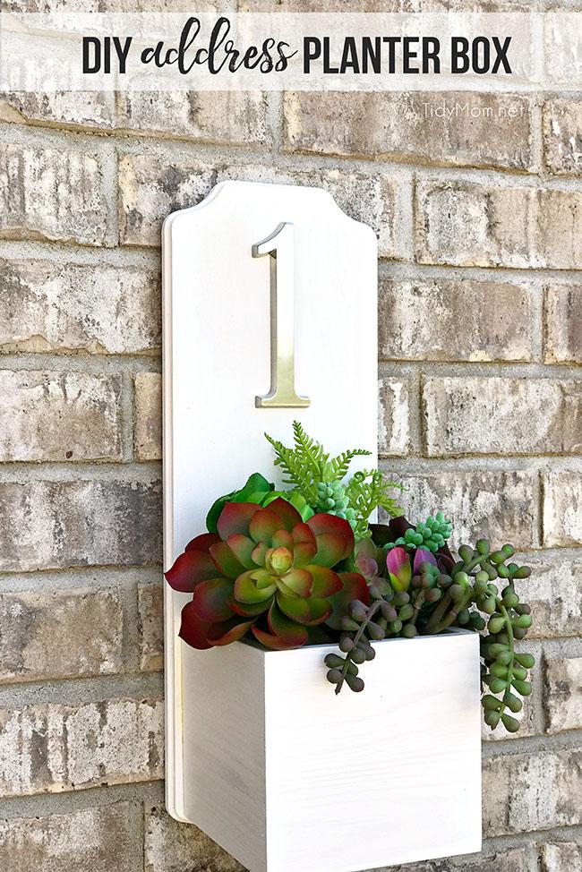 Adress Planter Box
