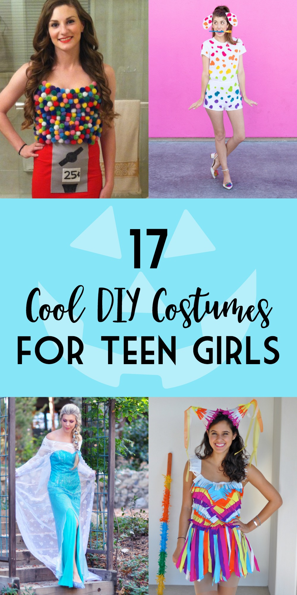 Great DIY Halloween Costumes for Teen Girls