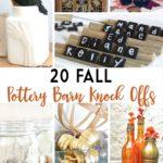20 Fun Fall Pottery Barn Knock Offs